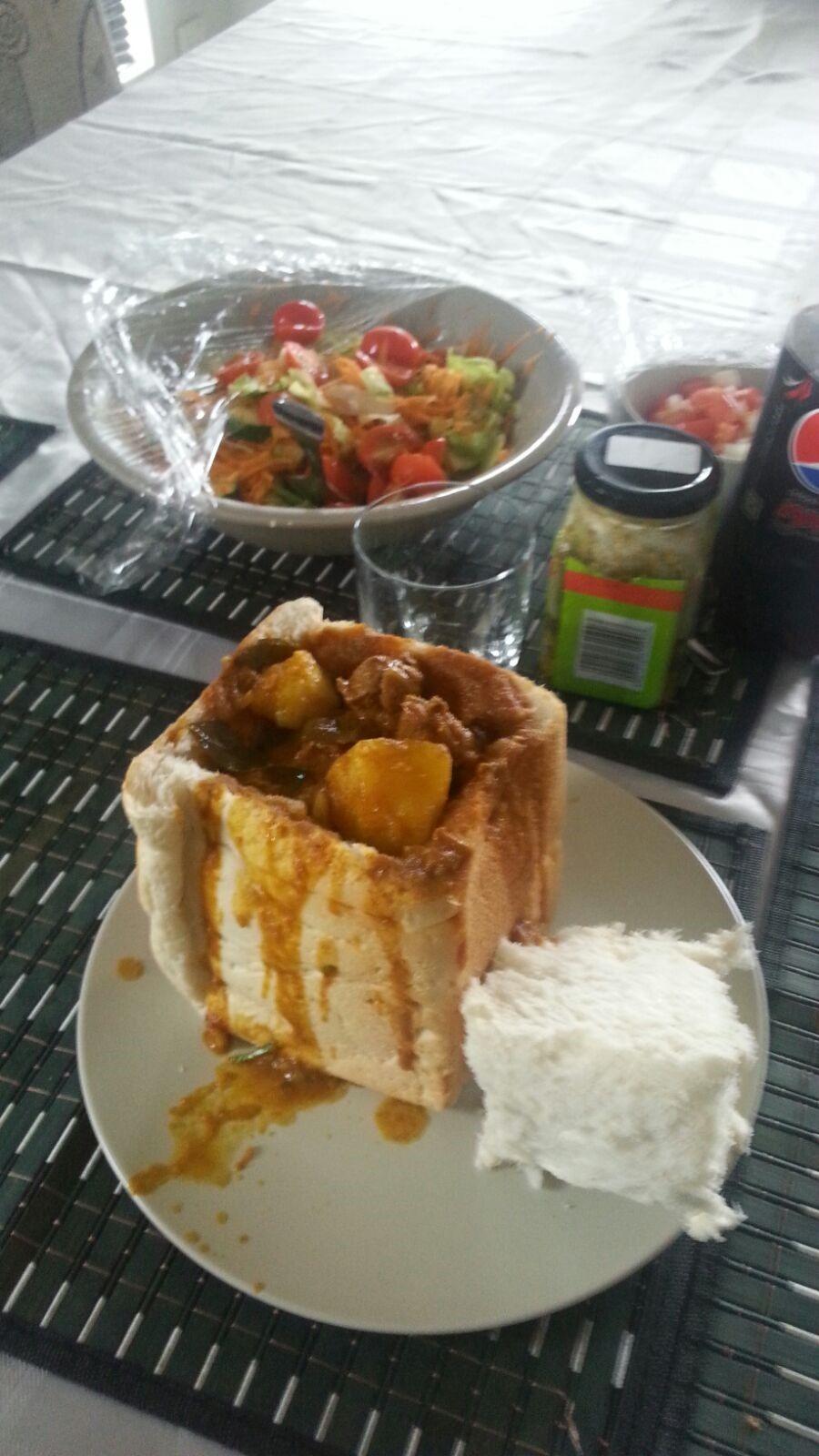 Lamb Curry Bunny Chow