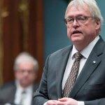 Gaétan Barrette à l'Assemblée nationale de Québec