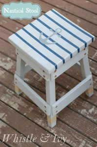 DIY projects : nautical inspired home decor