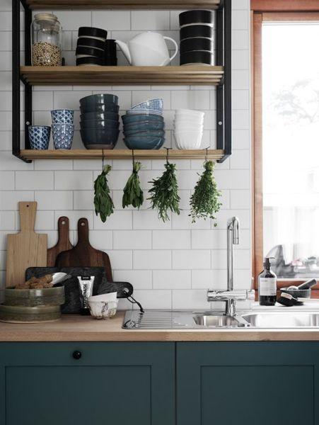 scandinavian kitchen tile designs White subway tiles : 15 ideas for the kitchen backsplash