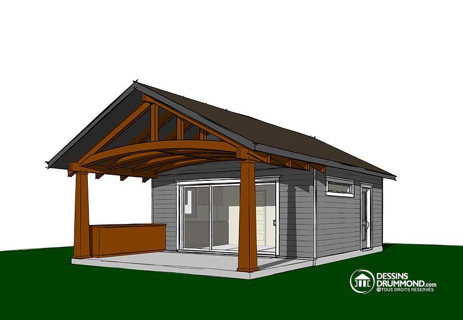 Nouveau plan de pavillon de jardin par Dessins Drummond