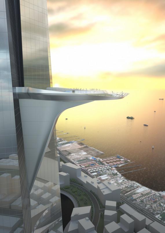 Saudi-Arabien baut hoechsten Wolkenkratzer der Welt
