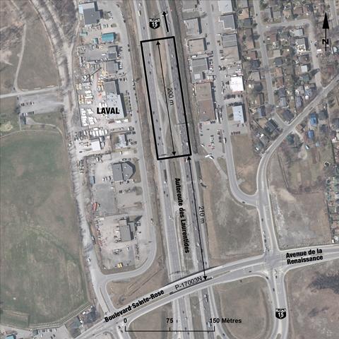 emplacement-du-radar-photo-de-l-autoroute-15