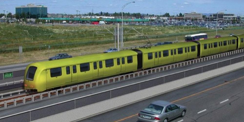 SLR électrique à Montréal