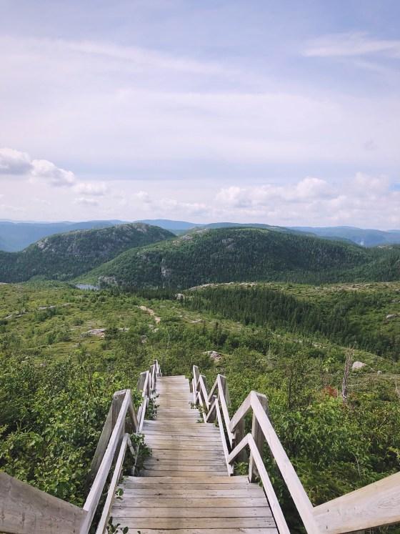 des 5 sommets dans Charlevoix