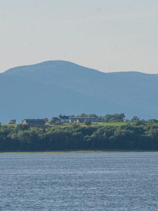 L'isle-aux-Grues depuis le Traversier