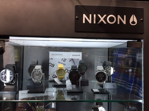 Nixon watch from Burton — $$$$