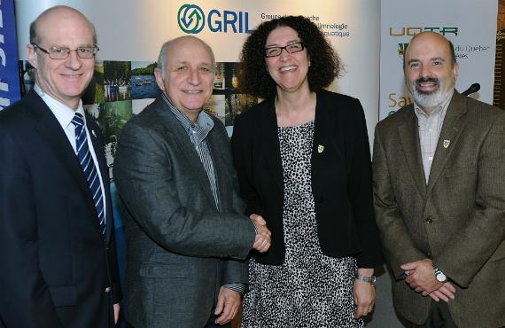 L'UQTR reçoit 1.65 M$ du CRSNG pour bonifier la formation d'étudiants de cycles supérieurs en écologie aquatique   En Tête UQTR