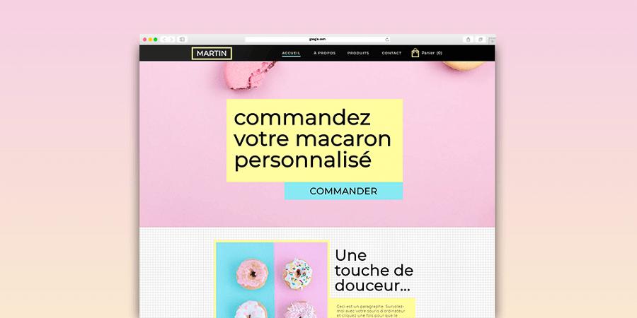 site web boutique