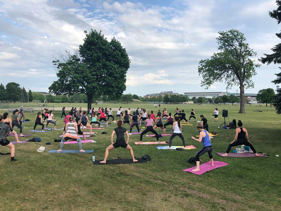 yoga plein air Montréal