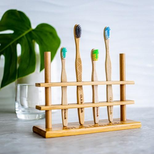 OLA Bamboo porte brosse à dents