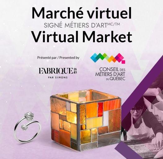 marché virtuel métiers dart Simons 1840