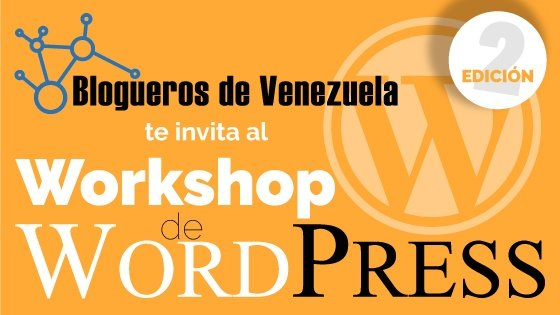 Workshop de WordPress, 2da edición