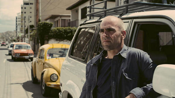 Luis Tosar en la película También la lluvia