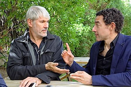 Los guionistas Harry Cleven y Thomas Gunzig
