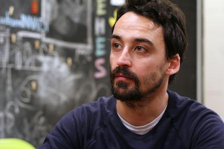 El guionista Daniel Remón
