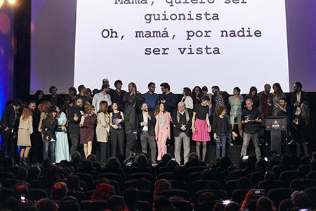 Gala de entrega de premios del sindicato de guionistas ALMA 2019