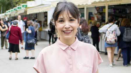 La guionista y coordinadora de guión Alba Lucío
