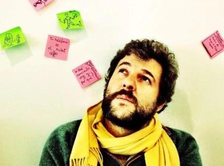 El guionista y productor ejecutivo Jacobo Bergareche
