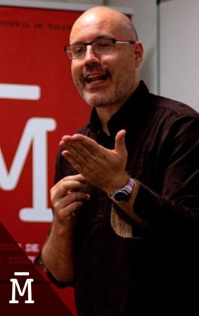 El guionista David Pulido en el máster de guión de Salamanca