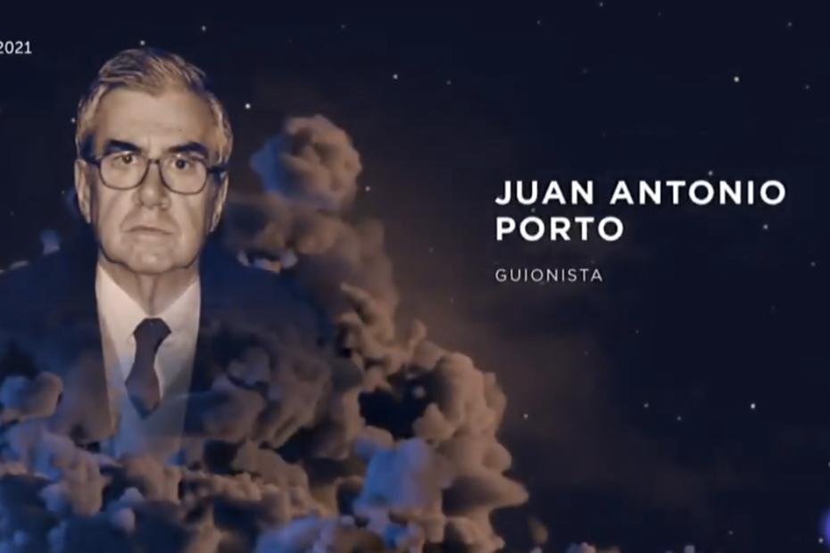 El guionista Juan Antonio Porto