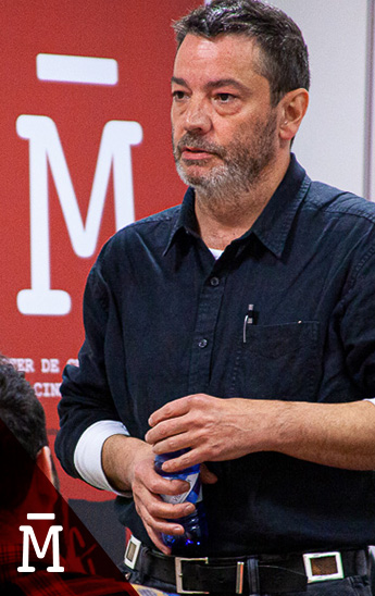 El cineasta Enrique Urbizu en el Master Guion de Salamanca