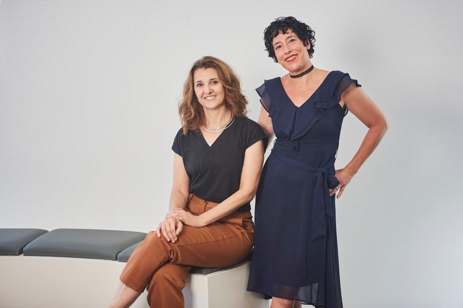Olatz Arroyo y Marta Sánchez guionistas