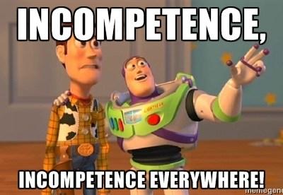 Unde e limita de jos a incompetenței?