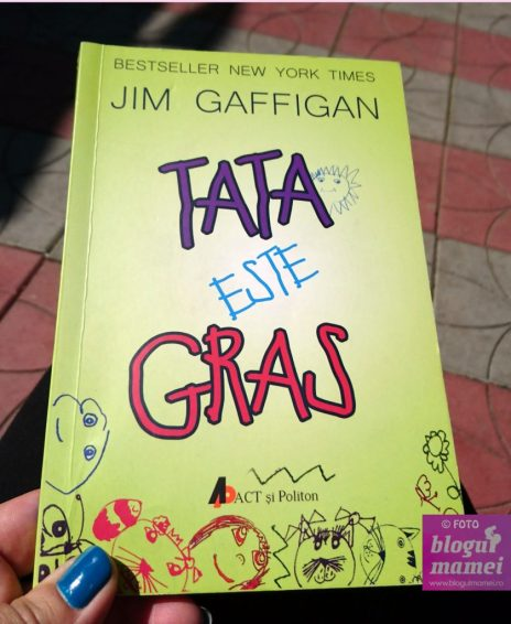 "Despre parenting- Tata este gras"", by Jim Gaffigan - blogulmamei.ro"