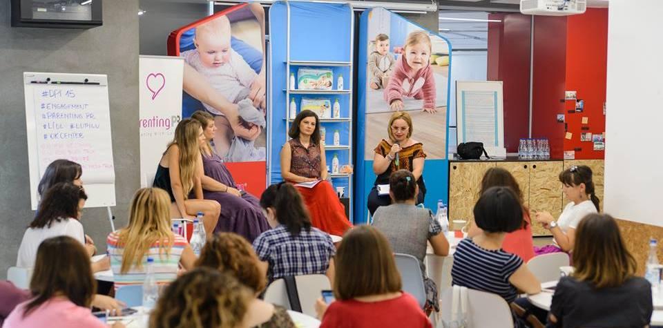speaker la digital parents talks. Foto: ParentingPR/Mihai Răitaru