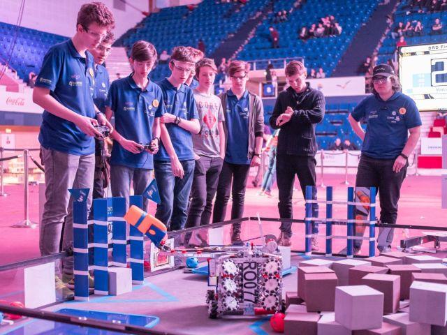 concurs de robotica BRD FIRST Tech Challenge