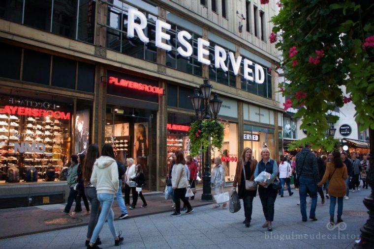 obiective pe care le poti vizita gratis in budapesta-vaci utca