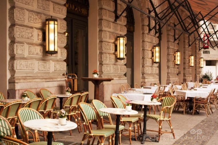 gratis în Budapesta-terasa