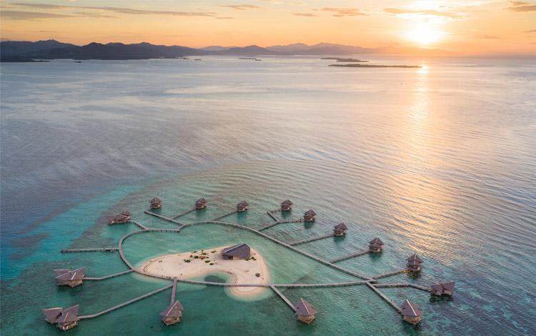 Tempat bulan madu di Indonesia - Pulau Cinta Gorontalo