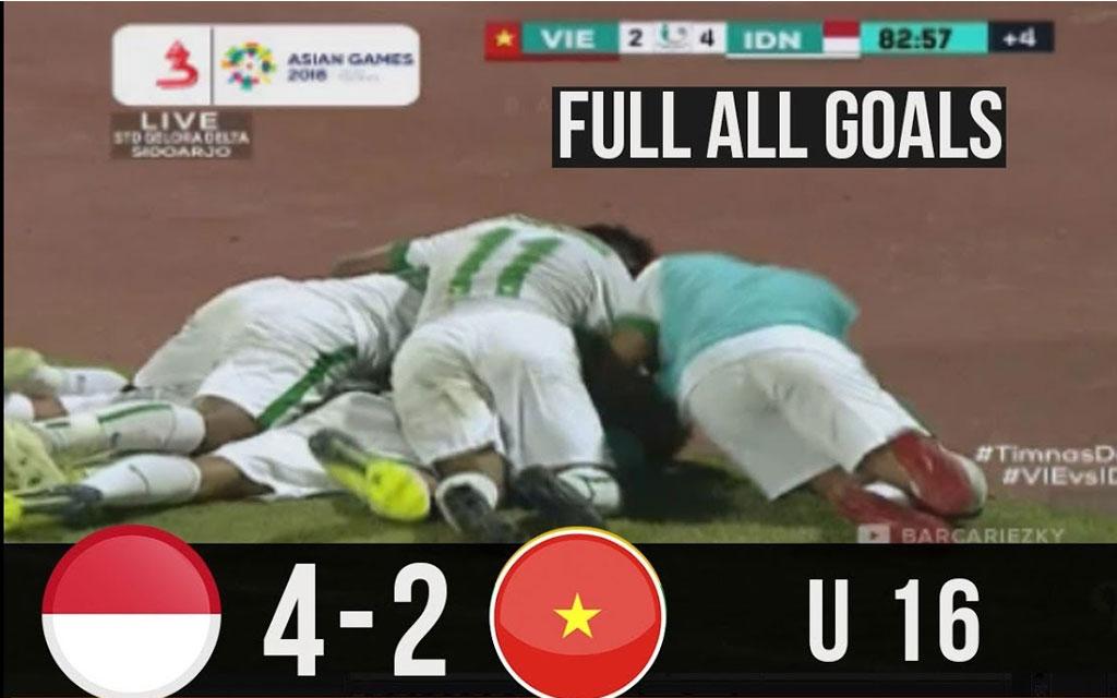 Timnas U16 Indonesia Bantai Vietnam 4-2
