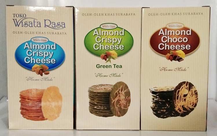 Makanan dan Minuman Khas Surabaya - Almond Crispy