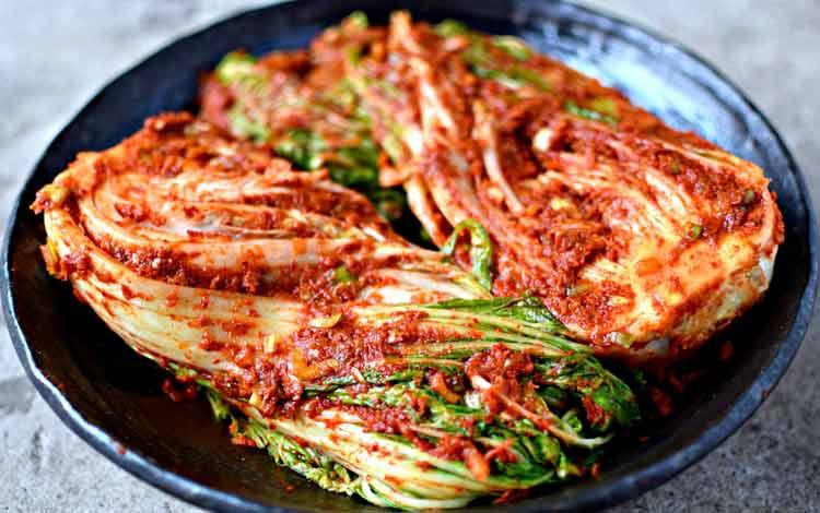 Daftar Makanan Terpedas Di Dunia - Kimchi