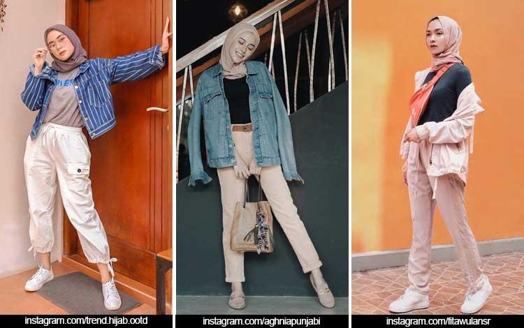 Trend Fashion Wanita 2019 - Hijab street style