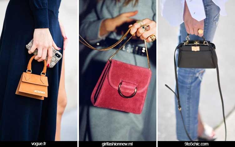 Trend Fashion Wanita 2019 - Shrunken Bags
