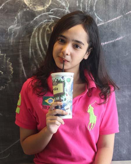 Daftar Pemain Sinetron Cinta Suci SCTV - Diandra Sabrina sebagai Sisca