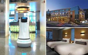 Hotel dengan teknologi canggih - Aloft Cupertino, California