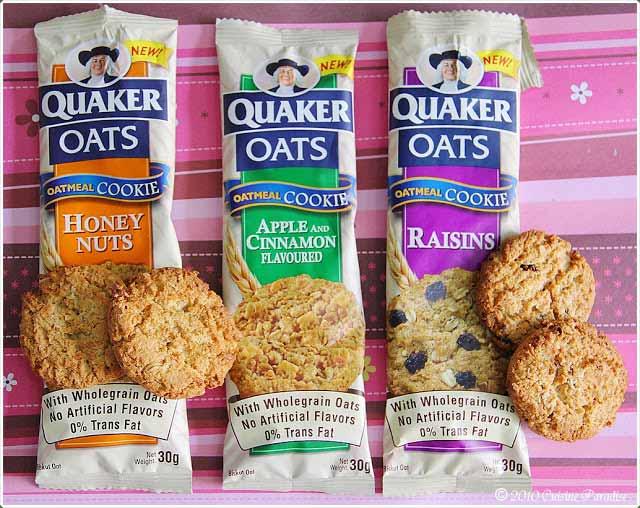 Merek Biskuit Yang Bagus Untuk Diet - Quaker Oats Oatmeal Cookies
