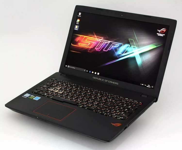 10 Rekomendasi Laptop Gaming yang Berkualitas dengan Harga Terjangkau - Asus ROG GL553VE