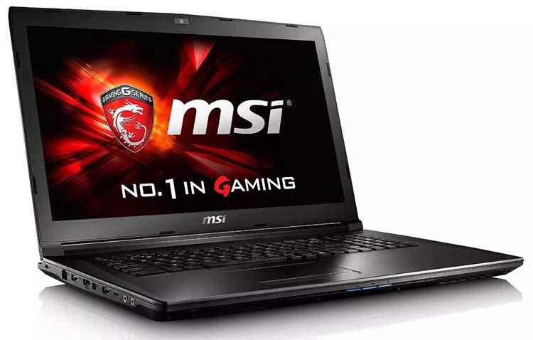 10 Rekomendasi Laptop Gaming yang Berkualitas dengan Harga Terjangkau - MSI GL72M Series