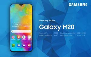 Spesifikasi, harga, kelebihan dan kekurangan Samsung Galaxy M20