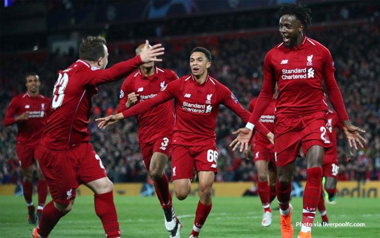 Liverpool mengalahkan Barca 4-0 dan melangkah ke final Liga Champions 2019