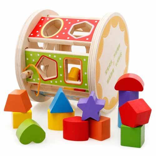 Rekomendasi Mainan Edukasi Untuk Bayi 6- 12 Bulan - Mainan Bentuk