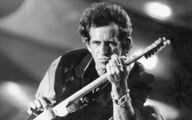 Gitaris Terbaik dan Terhebat Di Dunia Dengan Skill Tingkat Dewa - Keith Richards