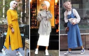 Fashion style kuliah mahasiswi berhijab