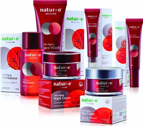 Produk Anti Aging Terbaik - Natur E Advance Face Series